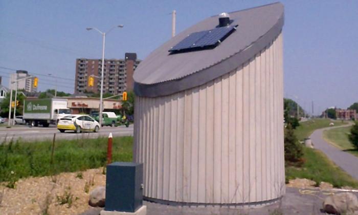 Maddison Conatruction Limited - Solar Powered Irrigation Building